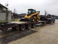 Hot Shot and Skid Steer services