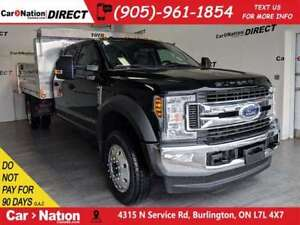 2018 Ford F-550 CHASSIS CAB XLT| POWER DUMP| BRAND NEW| LEASE OR
