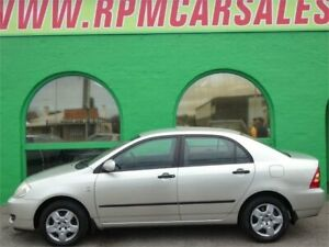 2006 Toyota Corolla ZZE122R MY06 Ascent Silver 4 Speed Automatic Sedan Nailsworth Prospect Area Preview