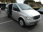 2008 Mercedes-Benz Vito MY08 115CDI Compact Crew Cab Silver 5 Speed Automatic Van Melrose Park Mitcham Area Preview