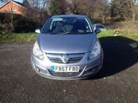 2008 vauxhall corsa sxi 1.2 petrol 5 door manual