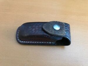 Swiss Army Knife Leather Pouch
