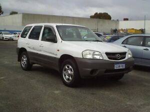 2001 Mazda Tribute Limited White 5 Speed Manual Wagon Embleton Bayswater Area Preview