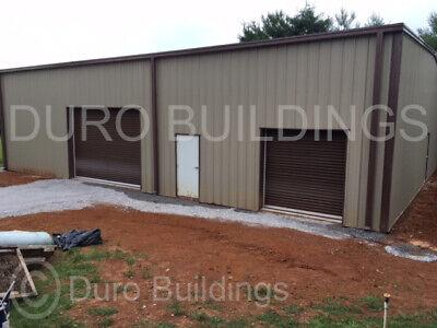 Durobeam Steel 50x72x16 Metal Building Garage Workshop Kit Made To Order Direct