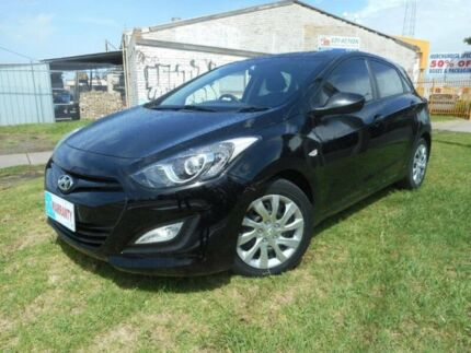 2012 Hyundai i30 GD Active Black 6 Speed Sports Automatic Hatchback Moorabbin Kingston Area Preview