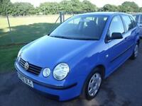 VOLKSWAGEN POLO S, Blue, Auto, Petrol, 2002