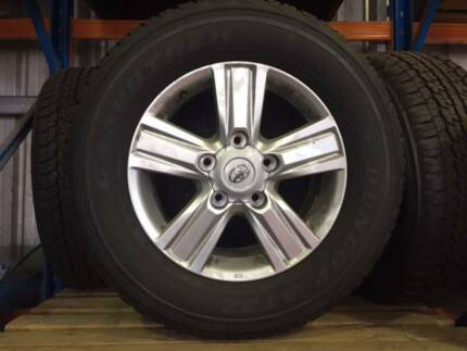 Toyota Sahara Land Cruiser 4x4 Wheels, Tyres and Rims x 5 Kingsley Joondalup Area Preview