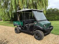 KAWASAKI MULE 4010 4 seater 4X4 trans great for shoots, farm tractor, large garden