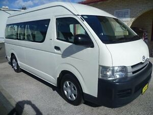 2009 Toyota Hiace KDH223R MY07 Upgrade Commuter White 5 Speed Manual Bus South Nowra Nowra-Bomaderry Preview