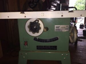 General 10'' Table Saw