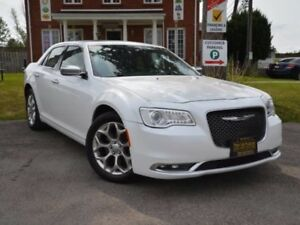 2016 Chrysler 300 C Platinum|$104Wk|AWD|Htd Lther Seats|Sunroof|