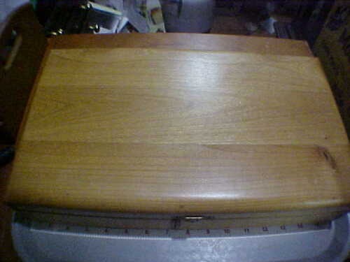 Wood Presentation Display Pistol Box Case 15 in long will fit most guns
