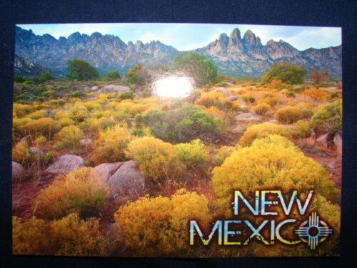 Las Cruces Organ Mountains Desert Peaks National Monument New Mexico Postcard
