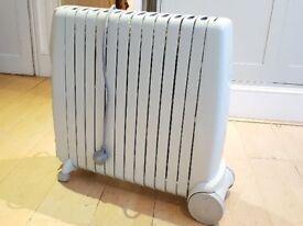 Plug-in electric radiator