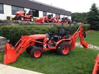 Mini Backhoe Rental with or without operator