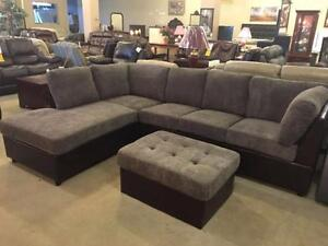 Store Wide Super Sale!! Brand New Sectional With Matching Ottoman  $899
