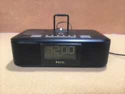 IHOME HDL95 DUAL ALARM CLOCK RADIO DOCK FOR APPLE - Free Shipping