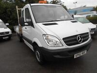 Mercedes-Benz Sprinter 313 CDI LWB 3.5T CREW CAB DROPSIDE DIESEL MANUAL (2012)