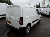Peugeot Partner 850 S 1.6 Hdi 92 Van [Sld] EURO 5 DIESEL MANUAL WHITE (2014)
