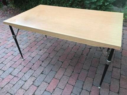 FREE DELIVERY Unique Retro Dining table Danish Eames Parker Era!