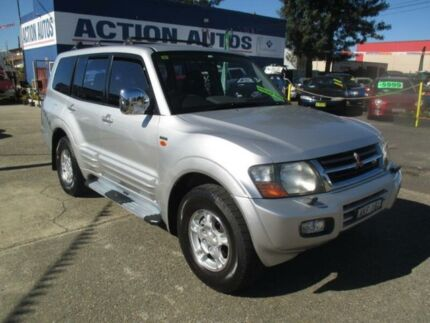 2000 Mitsubishi Pajero NL Exceed GLS LWB (4x4) Silver 4 Speed Automatic 4x4 Wagon Penrith Penrith Area Preview