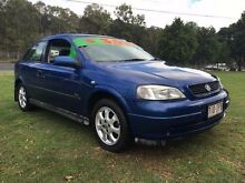 2003 Holden Astra TS SXI Blue 4 Speed Automatic Hatchback Clontarf Redcliffe Area Preview