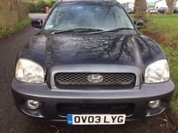HYUNDAI SANTA FE DIESEL 4WD VERY GOOD CONDITION DRIVES QUITE AND SMOOTH NO FAULTS
