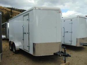 2018 Mirage 7X16 V-Nose Cargo Trailer w. Ramp and X Hgt.