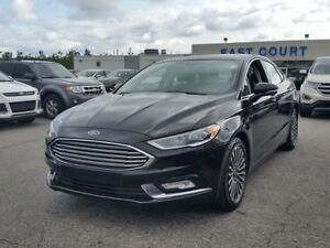2017 Ford Fusion SE,  Heated Seats, Leather, NAV