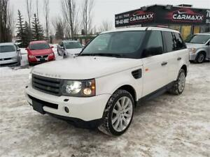 2008 Land Rover Range Rover Sport ENTERTAINMENT PKG *REDUCED*
