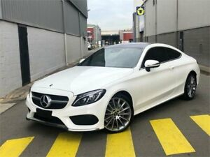 2017 Mercedes-Benz C-Class C205 808MY C200 9G-Tronic White 9 Speed Sports Automatic Coupe Auburn Auburn Area Preview