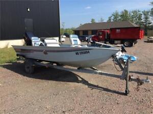Lowe 16ft w/ 90HP engine - REDUCED