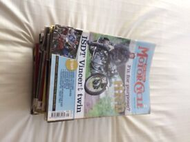 Classic Motorcycle magazines 2008-11