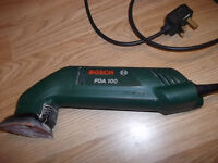 Bosch PDA 100 240 volt corner sander
