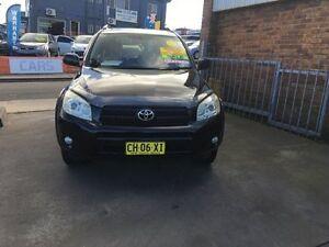 2006 Toyota RAV4 2 Cruiser Black Manual Wagon Croydon Burwood Area Preview