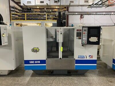Fadal Vmc 3016 Vertical Machining Center Model 904-1 W 8 Collet Tools Included