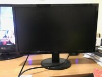 Acer K222HQL 21.5' monitor Full (1080p) HD in excellent condition