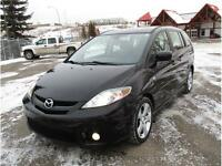 2007 Mazda5 GT GRAND TOURING MINIVAN. LEATHER, Only 116,600 Km's
