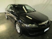 2006 Mazda 6 GG Diesel Black 6 Speed Manual Hatchback Invermay Launceston Area Preview
