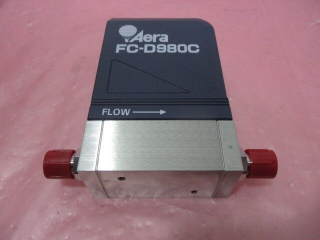 Aera FC-D980C Mass Flow Controller MFC O2 10 SCCM, Novellus 22-187231-00, 421412