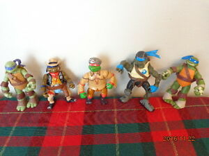 Teenage Mutant Ninja Turtle Figures:  All for $10.00