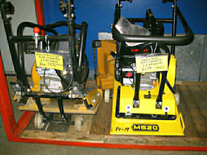 Walk behind plate compactor plus more inventory have a look
