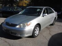 2002 Toyota Camry Sedan(4 cylinder,comes with Safety&Emission)