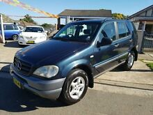 1999 Mercedes-Benz ML320 W163 Luxury Blue 5 Speed Automatic Wagon Yagoona Bankstown Area Preview