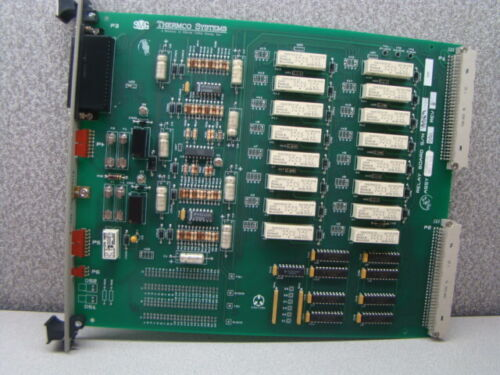 SVG Thermco 603855-02 Relay Wet / Dry Oxide Process PCB Assembly