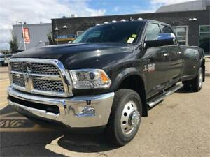2018 RAM 3500 LARAMIE DIESEL DUALLY... ALL NEW CHECK IT OUT !!