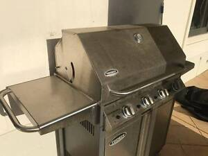 Quality Tucker Stainless Steel 4 burner Natural Gas BBQ $3000 New Manly Manly Area Preview