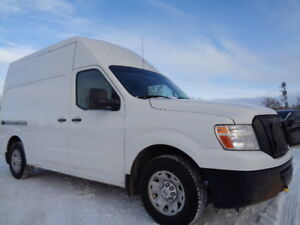 2012 Nissan NV 2500HD- HIGH ROOF-CARGO--4.0L V6--NO ACCIDENT