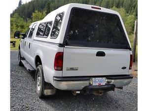 2006 FORD F250 4X4 ONLY 123,719 KMs XLT CREW CAB, Canopy $15,900 Prince George British Columbia image 4