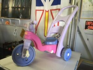 TODDLER  PUSH TRIKE